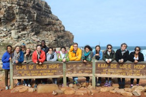 2015 UNC group visits Cape Point